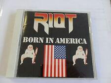 Riot-Born In America-CD Top (GIAPPONE versione CBS/Sony CSCS 5025)