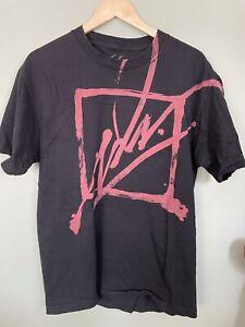 JSLV T-Shirt Mens Lg. Black Graphic (CA)