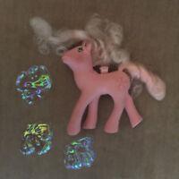 My Little Pony G1 Flutter Pony HONEYSUCKLE with 3 Broken Wings