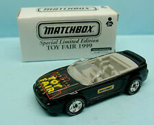 CH15/094 MATCHBOX / TOY FAIR N.Y 1999 / FORD MUSTANG CONVERTIBLE 1/64