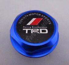 NEW JDM BLUE TRD Engine Oil Filler Cap Billet Aluminum COROLLA TC XA XB CAMRY