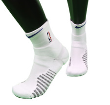New Nike 2XL NBA Authentics Team Issued Detroit Pistons Above Ankle Socks White