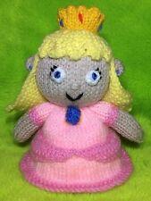 Tejer patrón-Princess Peach inspirado Choc Tapa Naranja/16 CMS Mario Juguete