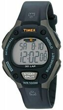 Timex T5E901, Men's Ironman 30-Lap Resin Watch, Alarm, Indiglo, Chronograph