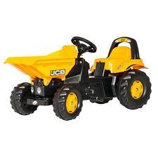 Rolly Toys JCB Dumper Traktor Trettraktor mit Kippschüssel + Verriegelung gelb
