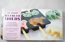 Williams Sonoma Ice Cream Sandwich Molds Cookie Cutters Set of 6 Zoo Animals