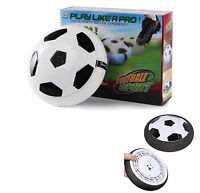 Kids Children Hover Fun Football Gift Indoor Soft Foam Floating Fun LED ball