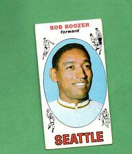 1969 Topps Basketball Set BOB BOOZER Card # 89