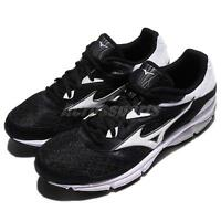 Mizuno Wave Surge Black White Men Running Shoes Sneakers Trainers J1GC17-1302