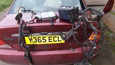 FORD FOCUS ST 170 ENGINE BAY WIRING LOOM HARNESS FUSE BOX  ECU AND WIRING KEY