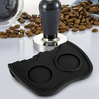 Silicone Coffee Tamper Mat Espresso Latte Tamper Tamping Corner Holder Pad