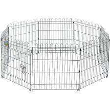 ME & MY MEDIUM FOLDING PLAY PEN CAGE PET DOG PUPPY RABBIT GARDEN RUN OUT/IN DOOR