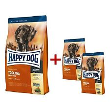 Happy Dog Supreme sensibles Toscana 12,5kg + 2 x 1 KG gratuit