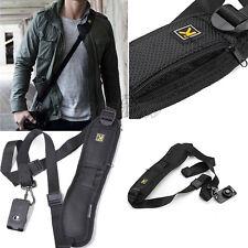 Quick Rapid Shoulder Sling Belt Neck Strap For Camera SLR/DSLR Nikon Canon Sony