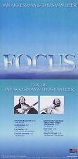 "Focus ""Jan Akkerman & Thijs van Leer - Focus"" 9. Werk, von 1985! Neue CD!"