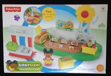 Fisher Price Little People Growing Garden & Farm Stand Playset with Tessa