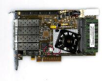 SPARE PART FOR FLUKE NTM NETPAC-H NPC173 - Napatech NT4E-4-STD Quad Port PCI-E