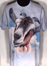 Goat Head The Mountain 2012 Paul James Large L Mens Blue Short Sleeve T-shirt