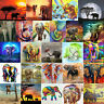 Elephant  Animal 5D DIY Full Drill Diamond Painting Cross Stitch Embroidery Kits