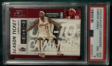 2009 PANINI PLAYOFF CONTENDERS LEBRON JAMES CARD #43 PSA 8 CLEVELAND CAVALIERS