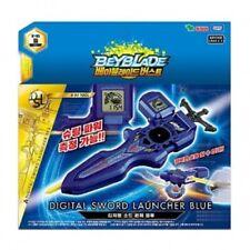 BeyBlade Burst B-93 Digital Sword Launcher BLUE Takara Tomy Original K-TOY