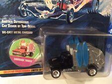 garbage truck surf black Johnny lightning Wacky Winners Tom Daniels TRUCK  1/64