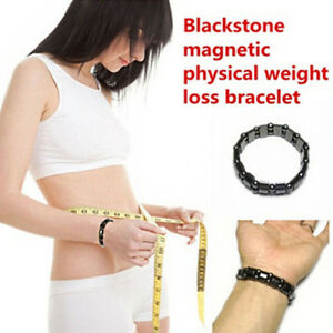 Biomagnetism Weight Loss Round Stone Health Care Magnetic Therapy Bracelet DOD