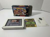Street Fighter II: Turbo Super Nintendo SNES W/Box & Inserts Only No Manual