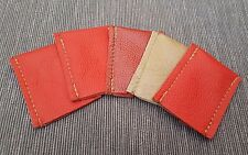 5 Safety razor leather protective covers, Brand new fit all razor types.