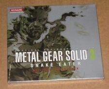 Metal Gear Solid 3 Snake Eater Original Soundtrack OST European Version Sealed