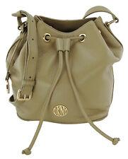 DKNY Donna Karan Bucket Bag Dune Beige Pebbled Leather Medium Handbag RRP £325