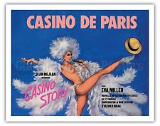Casino De Paris, France - Pierre Okley Vintage Advertising Poster Art Print