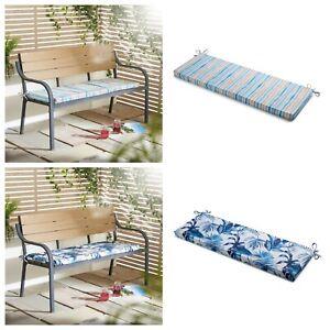 Summer Design Water Resistant Indoor Outdoor Bench Pad Cushion Booster 125x45cm