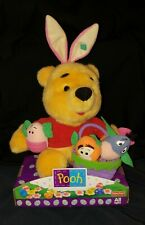 NEW Winnie the Pooh Easter Plush by Fisher Price, 1999 Piglet/Eeyore/Tigger