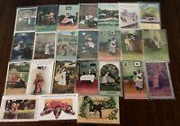Lot of 27~ Vintage BAMFORTH~Comic Funny Humor Postcards-Various Topics~b451