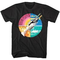 Pink Floyd Wish You Were Here Album Cover Art Men's T Shirt Handshake Rock Merch