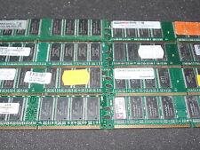 2gb (2x 1gb) pc3200 ddr-400 ddr1 di RAM *** diverse Hersteller *** #k7-2 <