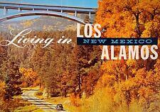 Vintage Los Alamos New Mexico Historical Promo Brochure USA Atomic Bomb