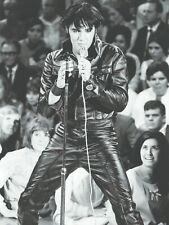 ELVIS PRESLEY in Concert Black outfit  MUSIC 18X24 POSTER