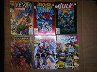 Spider-Man 2099, Hulk 2099, Venom The Mace #1, Spider-Man Max. Cloneage #1-Keys-