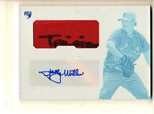 2013 Topps Finest SHELBY MILLER WHITE WHALE PATCH AUTO RC #1/1 CARDINALS!!