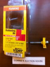 "#379 OLDHAM CARBIDE RABBETING 5/16"" FLUTE ROUTER BIT"