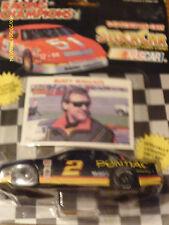 Rusty Wallace 1:64 Pontiac Racing Champion Car & Collector Card New 1992