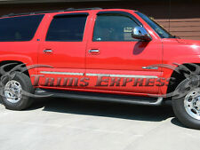 """2000-2006 Chevy Suburban/Avalanche Body Side Molding Stainless Steel 1.5"""" Trim"""