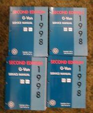 1998 Chevy Express  Savana ,Van Shop Service Manuals