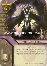 Warhammer Invasion - 1x Vile Sorceress  #107