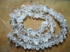"16"" Amazing 11-14 MM Water Clear Herkimer  Diamond Quartz Type Strands Pak R"
