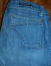Women's Jeans ROCK & REPUBLIC Light Wash Blue DYLAN DYLSH STRAIGHT Low Rise 27