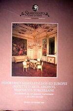 Catalogo Semenzato '99 MOBILI OGGETTI D'ARTE PORCELLANE