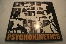 """PSYCHOKINETICS """"LET IT OFF"""" RARE HIPHOP 12"""" VINYL EP. BAY AREA ELECTRONIC RAP!"""